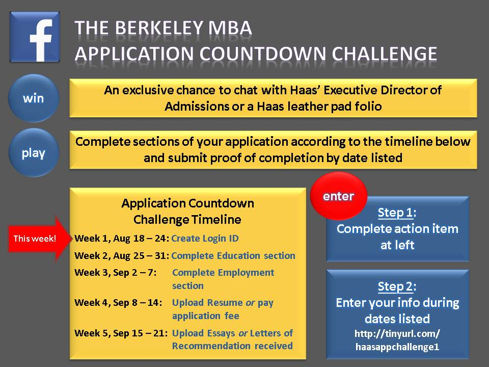 Application Countdown Challenge