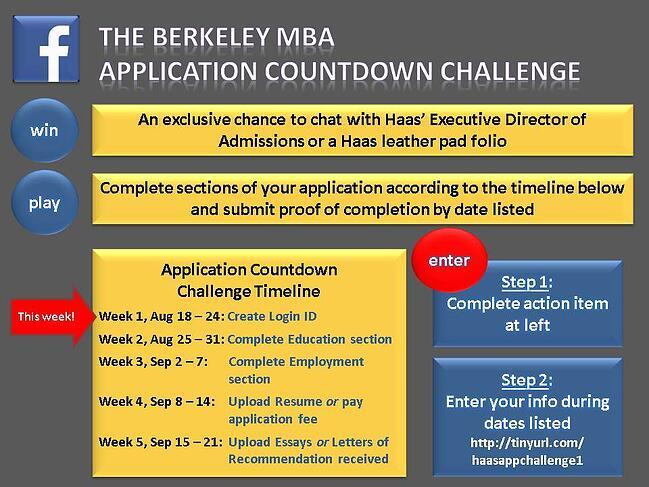 Application Countdown Challenge