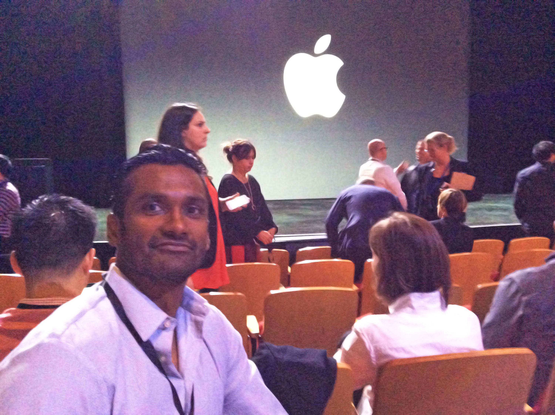 Avin_Arumugam_at_Apple_Live
