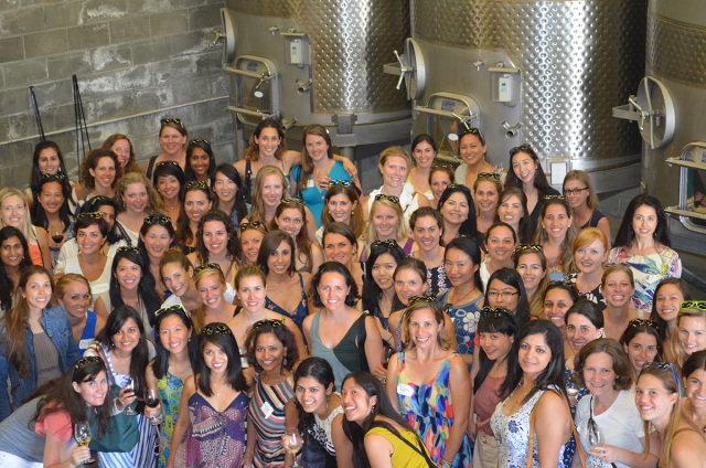 Berkeley MBA Women in Leadership Retreat, Sept. 2014