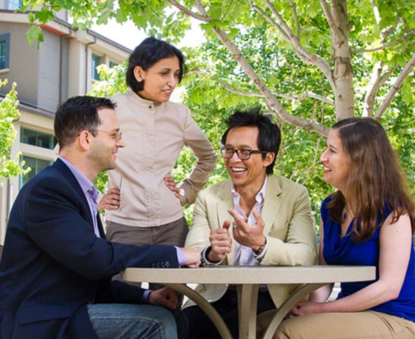 Berkeley EMBA students even find a little time to relax