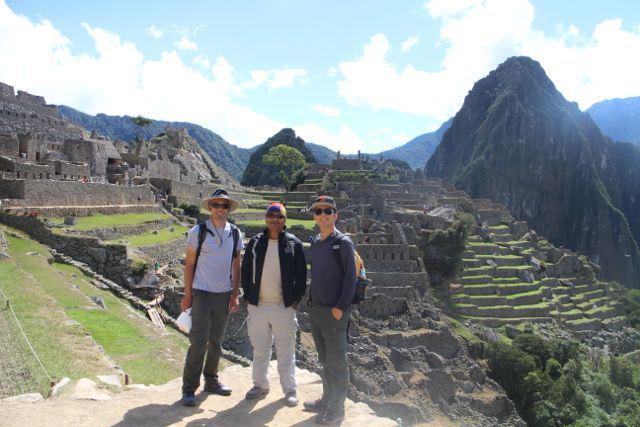 Evening & Weekend Berkeley MBA students on a consulting project in Peru