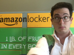 You don't need to work at Amazon to use an Amazon Locker. Jesse Silberberg MBA '15, is interning as a senior product manager.