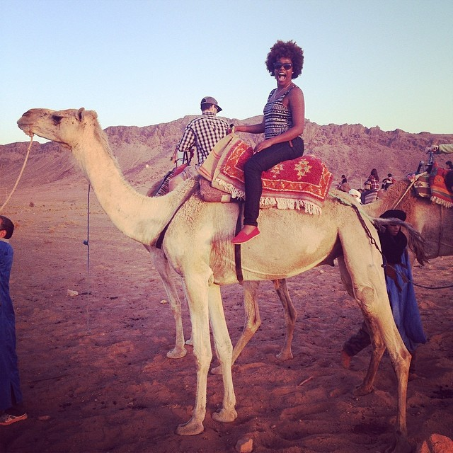 On a student trek to Morocco, spring break 2014