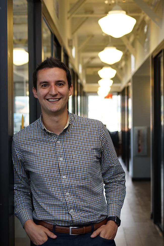 Berkeley MBA student Pedro Moura