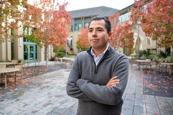 Berkeley MBA student Jorge Tellez