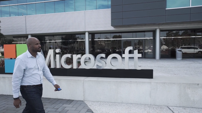 Corey Weathers at Microsoft