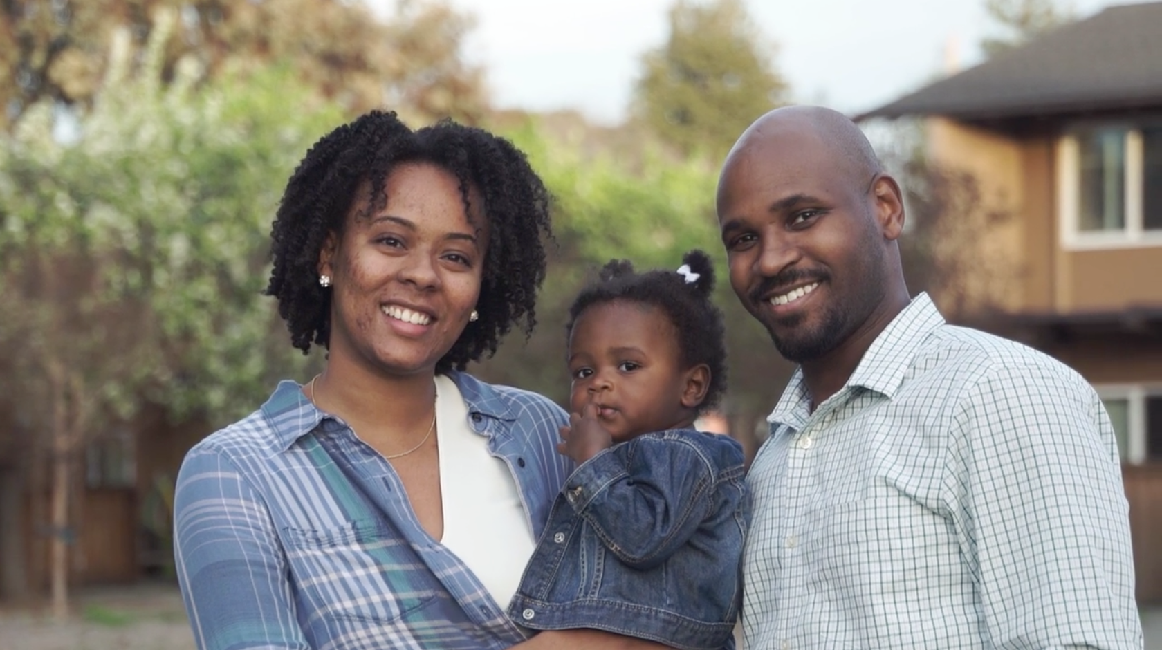 Corey Weathers family portrait