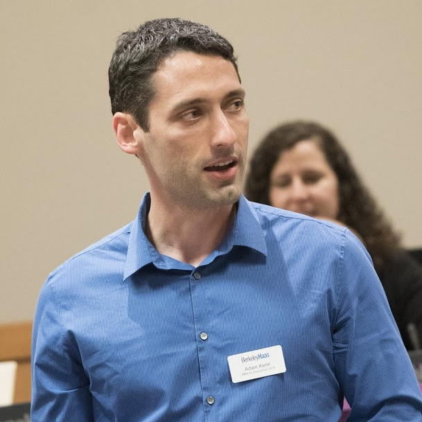 Executive MBA grad and product marketing director Adam Kerin