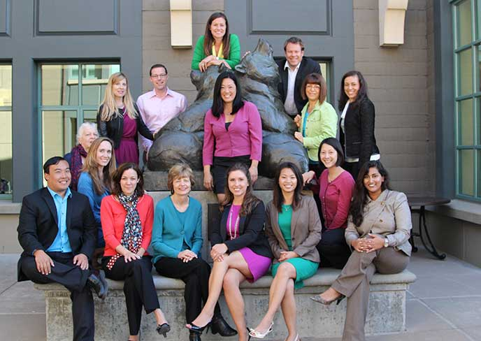 The Full-time MBA Admissions team at Berkeley-Haas