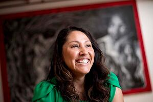 Berkeley EMBA student Cristy Johnston Limón at Destiny Arts