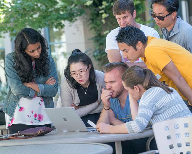 Berkeley Haas Full-time MBA students