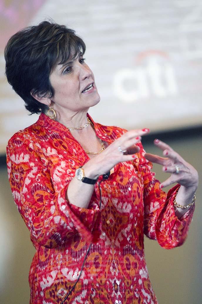 Berkeley-Haas Dean's Speaker Deborah Hopkins, CEO of Citi Ventures