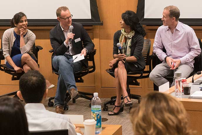 Berkeley Executive MBA students share their wisdom with the incoming class.