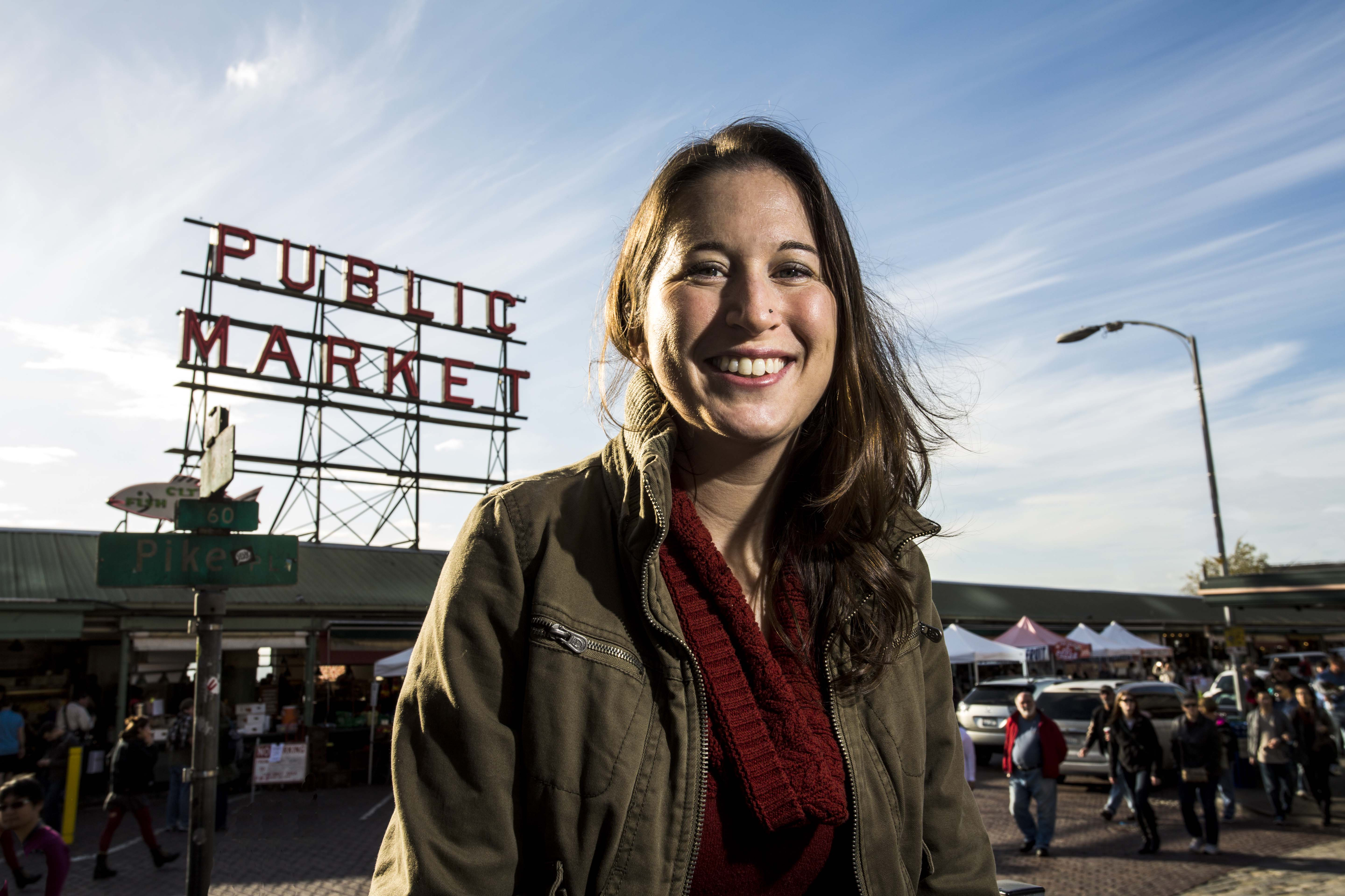 Berkeley MBA for Executives student Karin Lions, who commutes to the program from Seattle