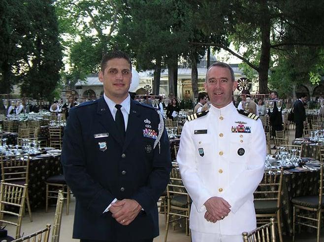 U.S. Navy veteran and Berkeley MBA for Executives student Mark Gorenflo