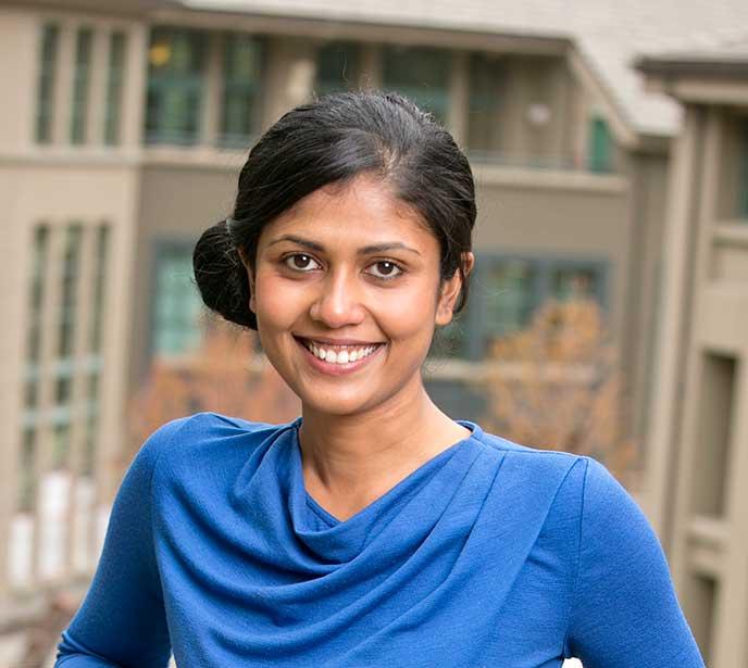 Berkeley MBA grad Aarti Shetty