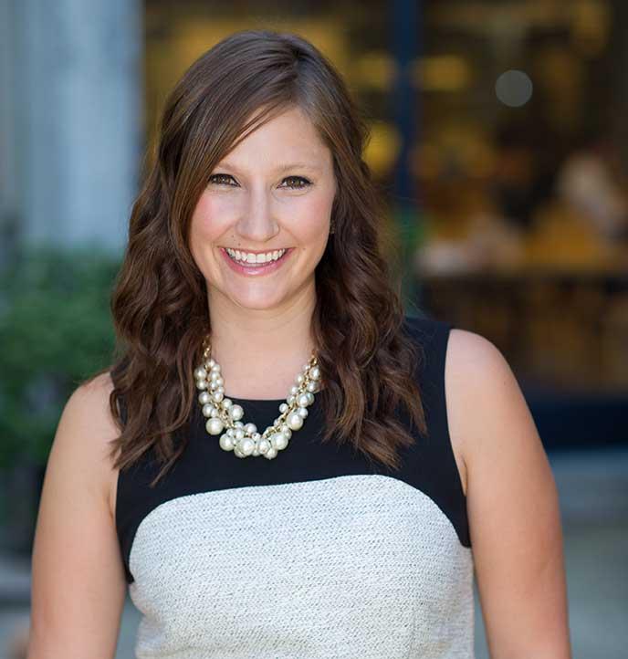 Berkeley-Haas evening and weekend MBA student Katie Pease
