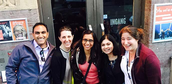 Berkeley MBA team in Amsterdam