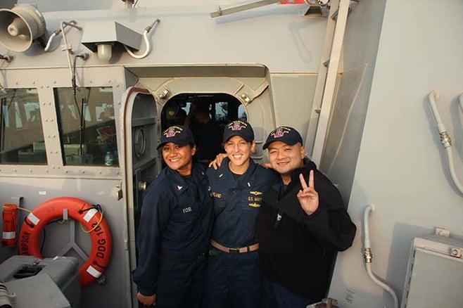Berkeley MBA student and former naval officer LeAnn Turner