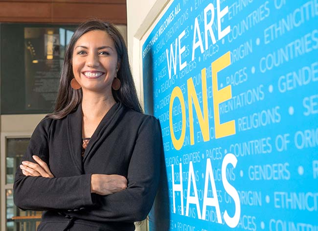 Élida Bautista, director of inclusion and diversity for Berkeley Haas