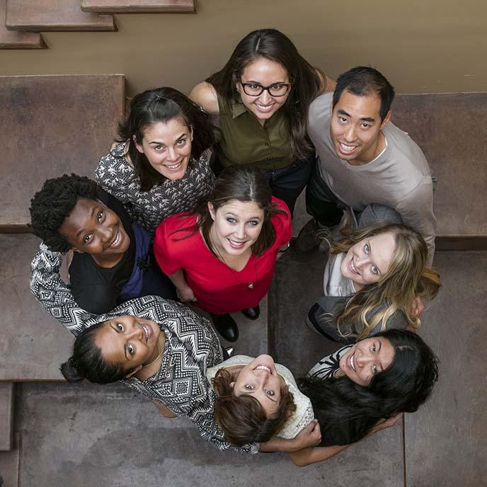 Members of the Berkeley-Haas Gender Equity Initiative