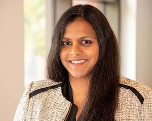 Berkeley MBA alum and McKinsey Partner Hrishika Vuppala