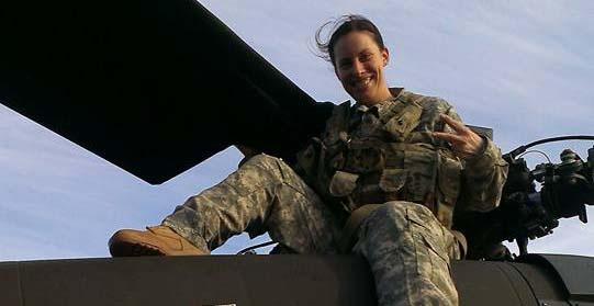 U.S. Army veteran and Berkeley MBA student Jennifer Nixon