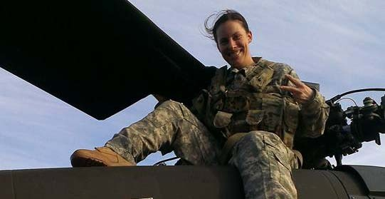 U.S. Army veteran and Berkeley MBA student Jennifer Nixon