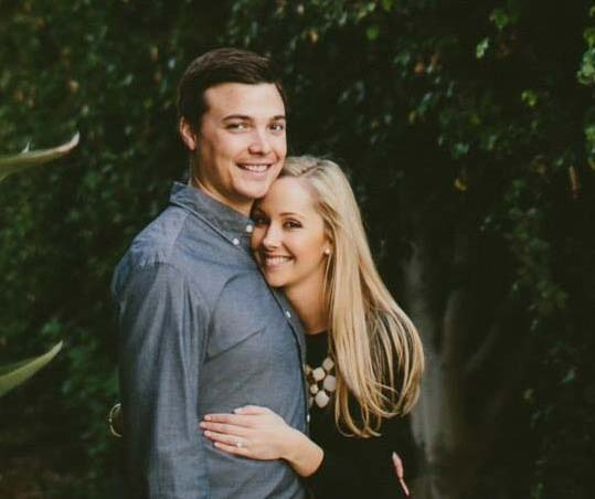 Recent Ful-time Berkeley MBA grad Kate Cote and husband David