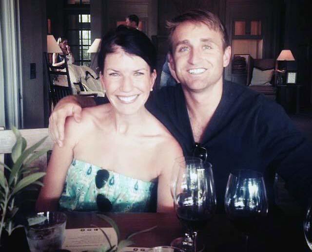 Full-time Berkeley MBA student Peter Shearer and wife Lauren Civeillo