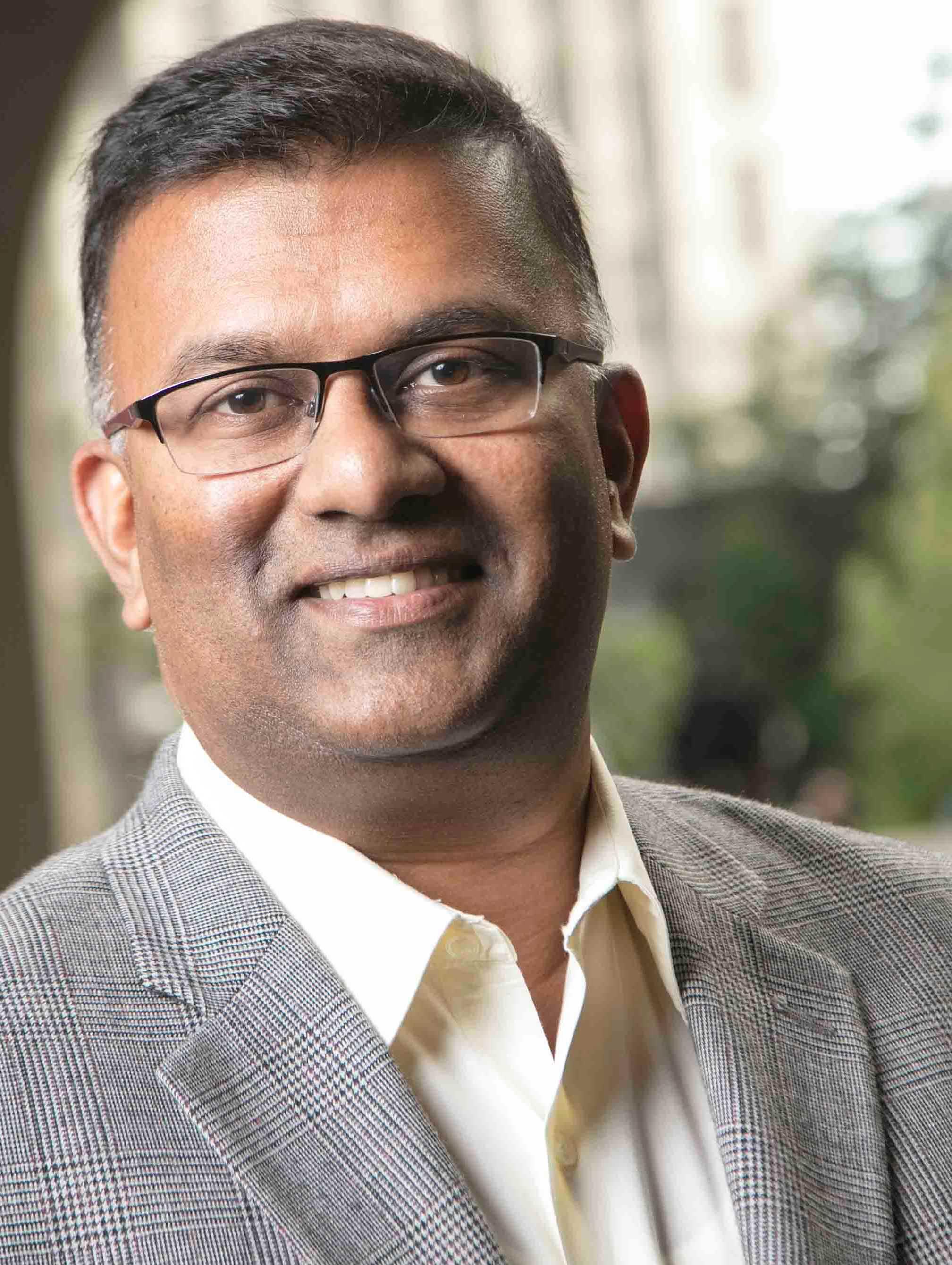 Berkeley EMBA student and GMAT podcast host Manoj Thomas