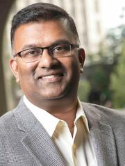 Berkeley EMBA student and GMAT podcast host Manoj Thomas