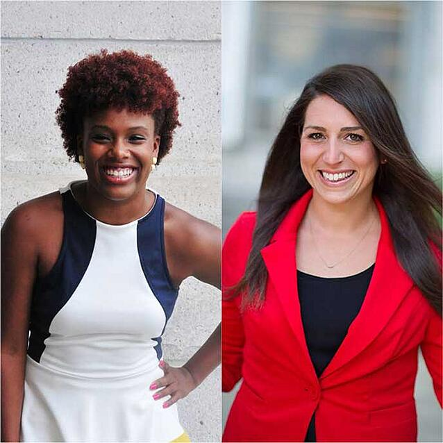 """Graduating Berkeley MBA students Nikita Mitchell and Katie Benintende were named to Poets & Quants """"Best and Brightest"""" list of 2015 grads"""