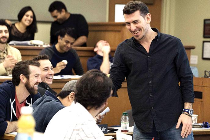 Berkeley Evening & Weekend Prof. Panos Patatoukas, one of Poets & Quants list of best professors under 40