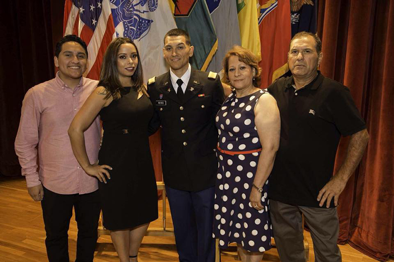 Robert Reyes Officer Candidate School graduation