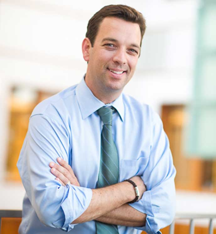 Berkeley MBA for Executives Student and Abbott Executive Vice President Robert Ford