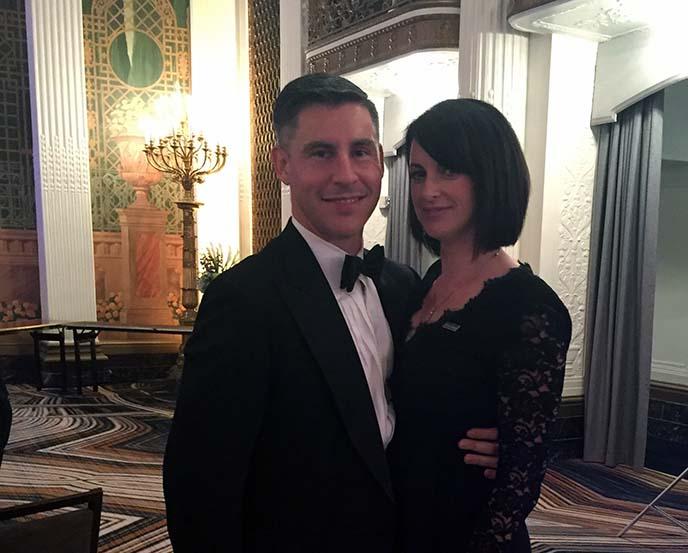 Berkeley MBA for Executives student Sally Allain with husband Richard