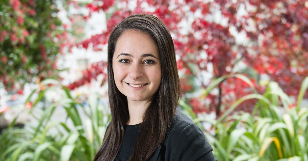 Berkeley EMBA student Sarah Reichenbacher
