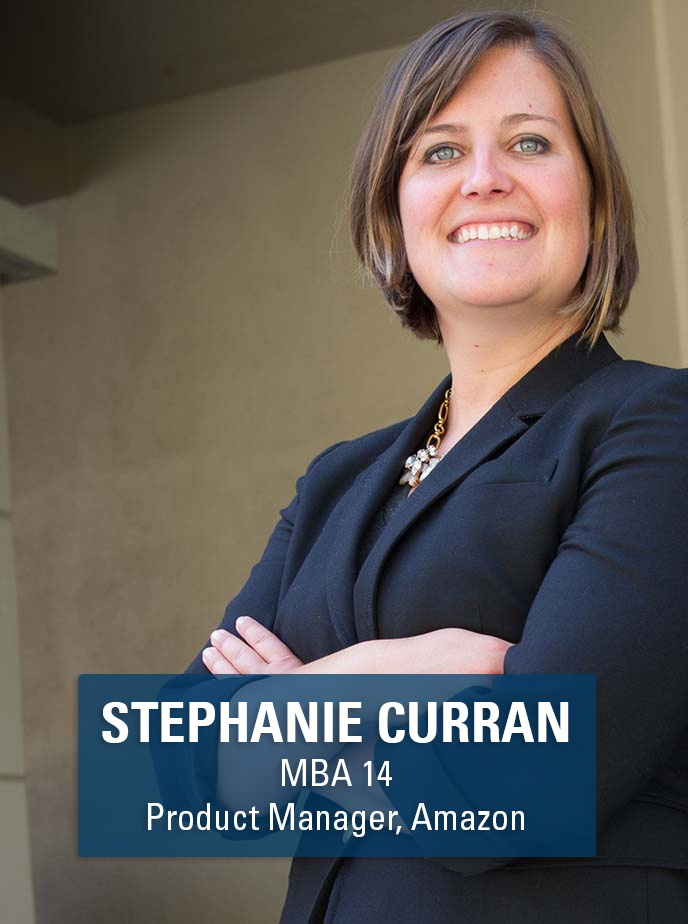 Berkeley MBA alum and product manager Stephanie Curran