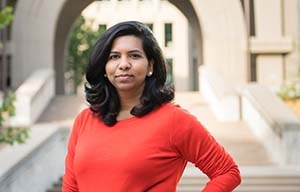 Berkeley MBA student Swetha Tupelly