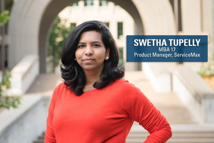 ServiceMax product manager and Berkeley MBA alum Swetha Tupelly