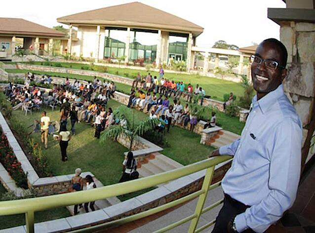 Berkeley MBA alum Patrick Awuah, founder of Ashesi University in Ghana and one of Fortune's 50 greatest world leaders