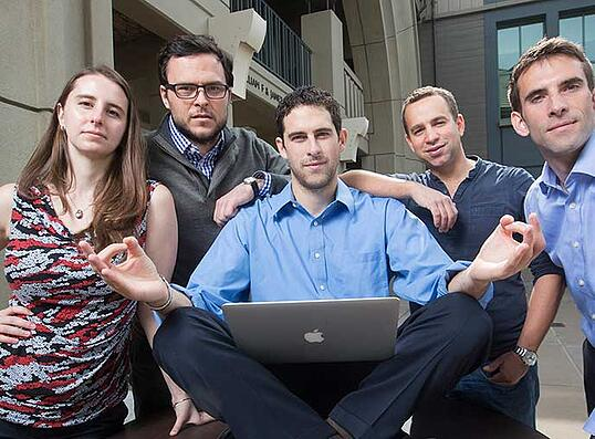 Student Leaders of the Haas Data Science Club