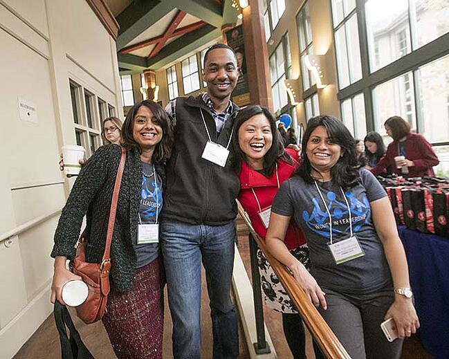 Berkeley MBA students at the 2016 Women in Leadership Conference