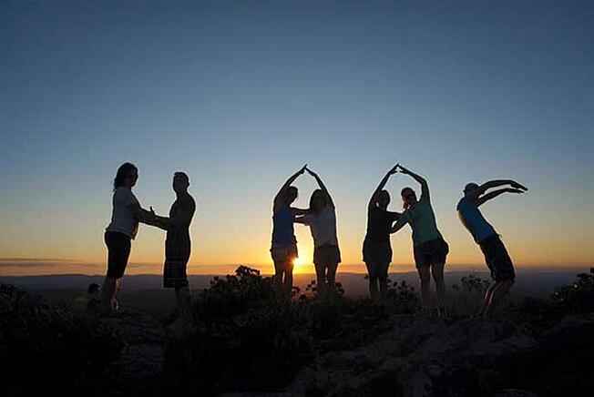 Berkeley EMBA 15 students on their international trek in Brazil