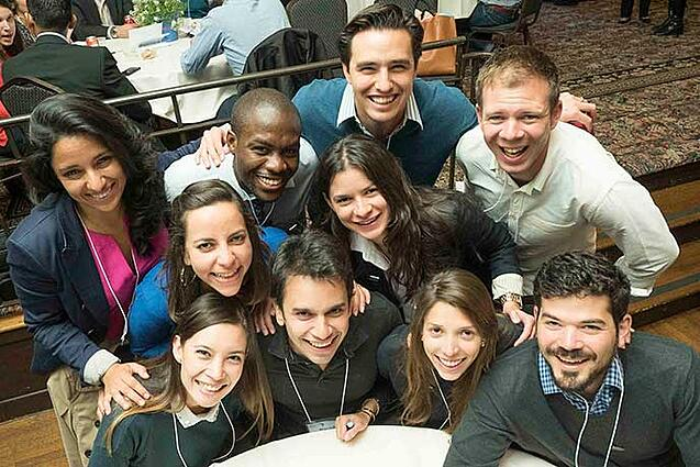 Students in the Full-time Berkeley MBA Program