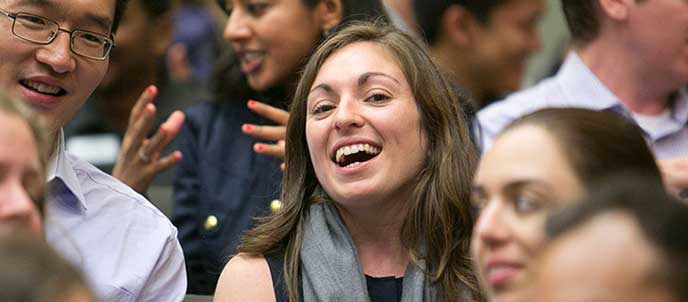 Part-time MBA students at Berkeley-Haas juggle a lot, but reap the rewards of working while earning their MBA degrees.