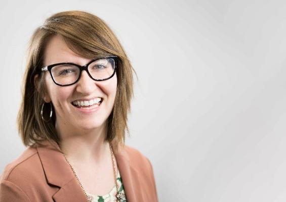 Photo of Salesforce hiring manager Layne Austin